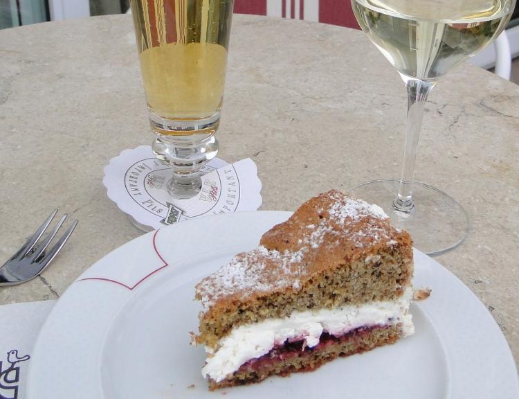 Dolomites - torta di grana saraceno
