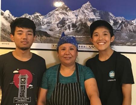 Lakpa Sherpa, Fulamu Sherpa, Tashi Sherpa